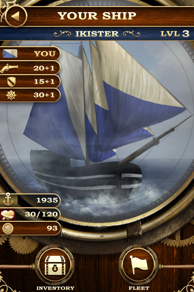 Screenshot Captain's Conquest